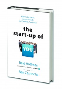 Drawing for free copy of The Startup of You